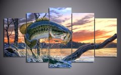 Fish Painting Wall Art