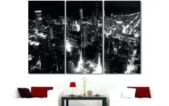 Big W Canvas Wall Art