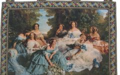Blended Fabric Classic French Rococo Woven Tapestries