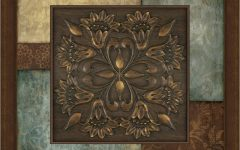Brown Framed Wall Art