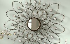 Bruckdale Decorative Flower Accent Mirrors