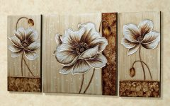 Canvas Wall Art Of Flowers