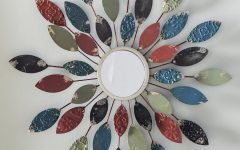 Carstens Sunburst Leaves Wall Mirrors