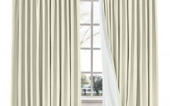 Solid Cotton Pleated Curtains