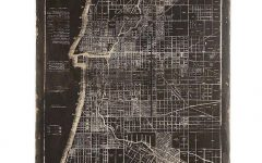 Chicago Map Wall Art