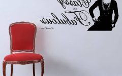 Coco Chanel Wall Decals