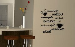 Cafe Latte Kitchen Wall Art
