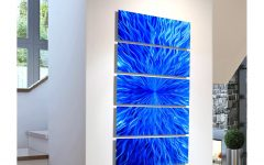 Contemporary Fused Glass Wall Art