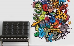 Graffiti Wall Art Stickers