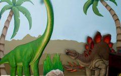 Beetling Brachiosaurus Dinosaur 3d Wall Art