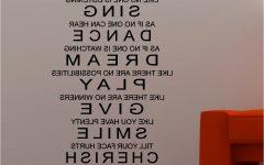 Inspirational Sayings Wall Art
