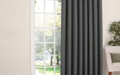 Nantahala Rod Pocket Room Darkening Patio Door Single Curtain Panels