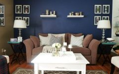 Navy Wall Accents