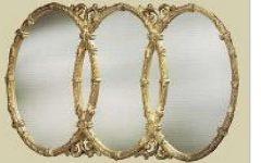 Triple Oval Wall Mirrors