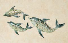 Dolphin Metal Wall Art