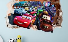Cars 3D Wall Art