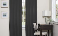 Eclipse Darrell Thermaweave Blackout Window Curtain Panels