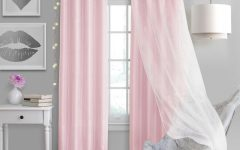 Elrene Aurora Kids Room Darkening Layered Sheer Curtains