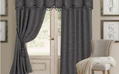 Elrene Mia Jacquard Blackout Curtain Panels