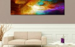 Embellished Canvas Wall Art