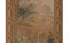 European Le Point Deau Flamant Rose Tapestries