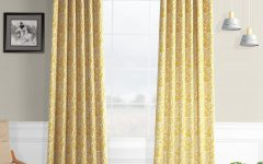 Abstract Blackout Curtain Panel Pairs