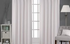 Sateen Woven Blackout Curtain Panel Pairs with Pinch Pleat Top