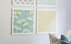 Fabric Wall Art Patterns