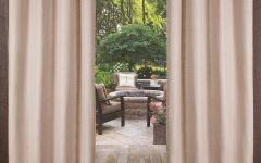 Delano Indoor/outdoor Grommet Top Curtain Panel Pairs
