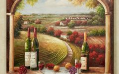Italian Wine Wall Art