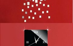 Italian Ceramic Wall Clock Decors