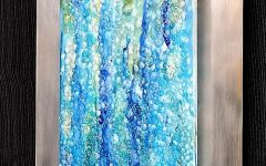 Fused Glass Wall Art Devon