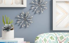 2 Piece Starburst Wall Décor Set by Wrought Studio
