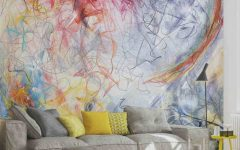Abstract Art Wall Murals