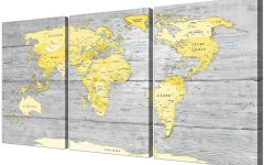 Map Wall Art Prints