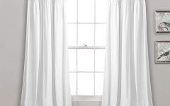 Lydia Ruffle Window Curtain Panel Pairs