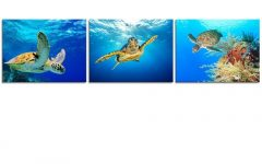 Sea Turtle Canvas Wall Art