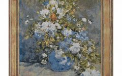 Blended Fabric Spring Bouquet by Renoir Tapestries