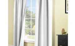 Insulated Cotton Curtain Panel Pairs