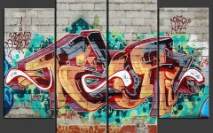 Graffiti Canvas Wall Art