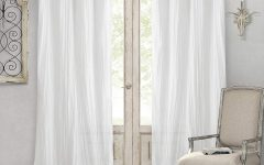 Elrene Jolie Tie-top Curtain Panels