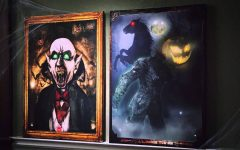 Halloween Led Canvas Wall Art