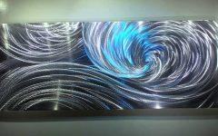 Aluminum Abstract Wall Art