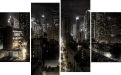 Canvas Wall Art Of New York City