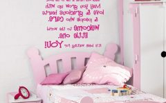 Wall Art for Teenage Girl Bedrooms