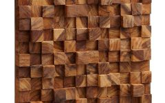 Wood Art Wall
