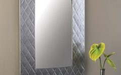 Brushed Nickel Wall Mirrors For Bathroom
