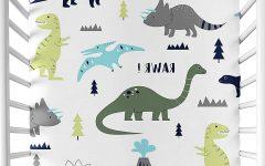 Blended Fabric Mod Dinosaur 3 Piece Wall Hangings Set