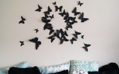 Butterflies 3D Wall Art
