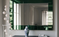 Green Wall Mirrors